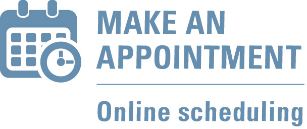 Make An Appointment - Online scheduling